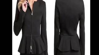 Fashion Trends - It'S Time To Go Peplum Jackets | Getit Fashion & Accessories Thumbnail