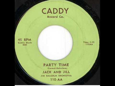 Jack & Jill - Party Time (Caddy 110-AA) 1957
