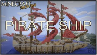 """minecraft"" (xbox 360) - Pirate Ship"