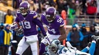 2014 NFL WK13: Carolina Panthers @ Minnesota Vikings:  VIKES COOK CATS IN THE COLD