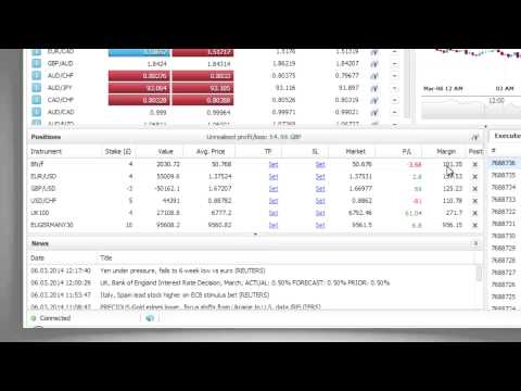 3/8 Positions: Web-based Spread Betting Platform
