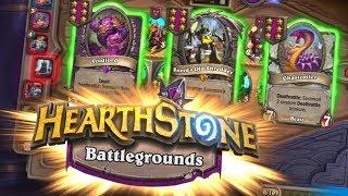 NEW MODE! Hearthstone Battlegrounds! WarCraft Autobattler?!