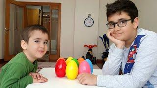 Buğra Sürpriz Yumurtaları Sakladı Berat Buldu