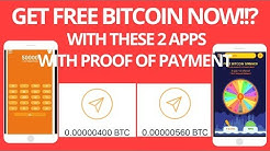 CLAIM FREE BITCOIN with BFAST BFREE and FREE BITCOIN SPINNER