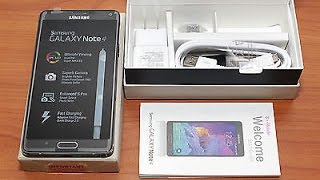 Unboxing Samsung Galaxy Note 4 SM-N910H - Español