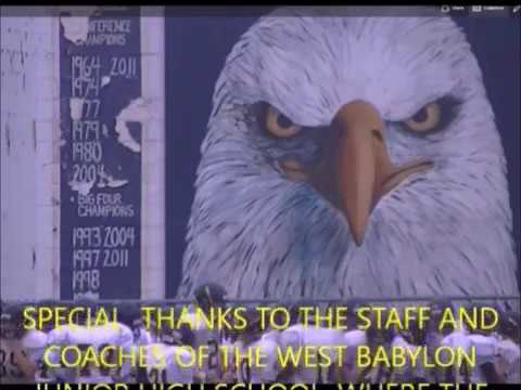 WEST BABYLON JHS FOOTBALL 2016 HIGHLIGHTS