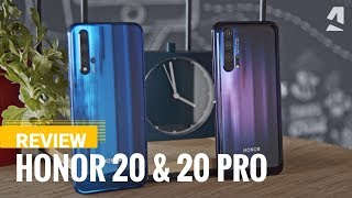 Honor 20 and 20 Pro review