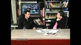 Gorazd Chapovski od Mizar vo Politiko na Nasha TV 3 del