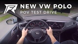 2017 Volkswagen Polo 1.0 TSI 95HP - POV Test Drive (no talking, pure driving)