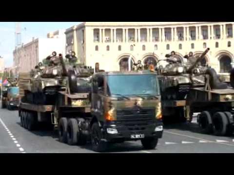 Военный парад в Ереване 21.09.2011