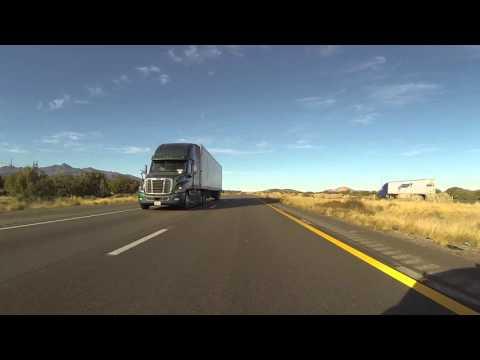 Interstate 40 East to U.S. Route 93 South past Petro Kingman toward Wikiup, AZ, GP050040