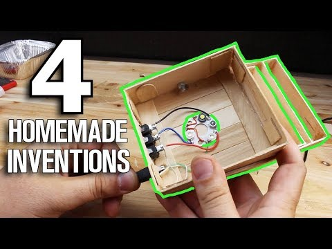 4 Homemade Inventions DIY Projects