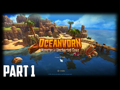 Oceanhorn: Monster of Uncharted Seas - 100% Walkthrough Part 1 [PS4] – Hermit's Island