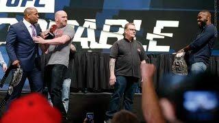 Даниэль Кормье vs. Джон Джонс - Дерзкие выходки / Daniel Cormier vs. Jon Jones