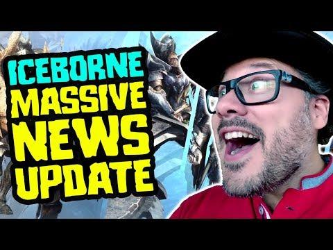 Iceborne News - MASSIVE UPDATE - Monster Hunter World Iceborne News