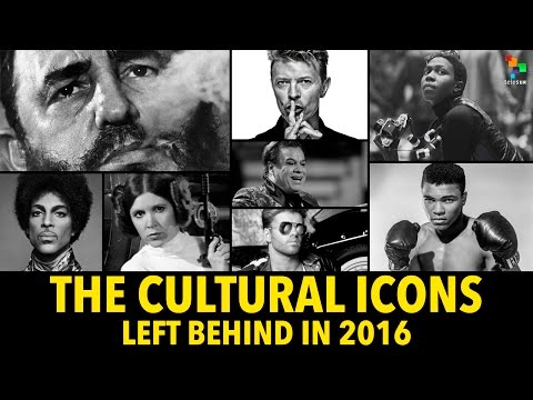 The Cultural Icons Left Behind in 2016