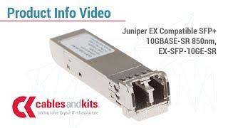 Product Info: Juniper EX Compatible EX-SFP-10GE-SR
