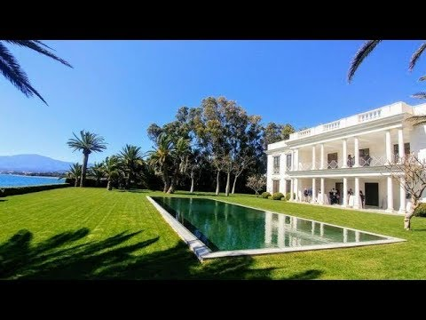 President@agent4stars.com Palatial Marbella beach  mansion  for sale