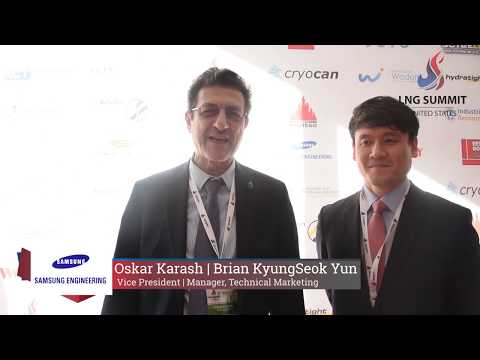 Samsung Engineering testimonial about LNG USA Summit 2017