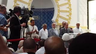 Discours du Préfet du Rhône, Michel Delpuech et du recteur, à la Grande Mosquée de Lyon