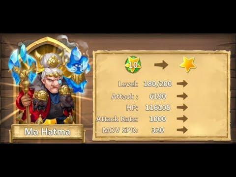 Castle Clash Free To Play F2P !!! Evolving Ma Hatma ! Spending Your Books Wise ! Bonus J Win 140lvl