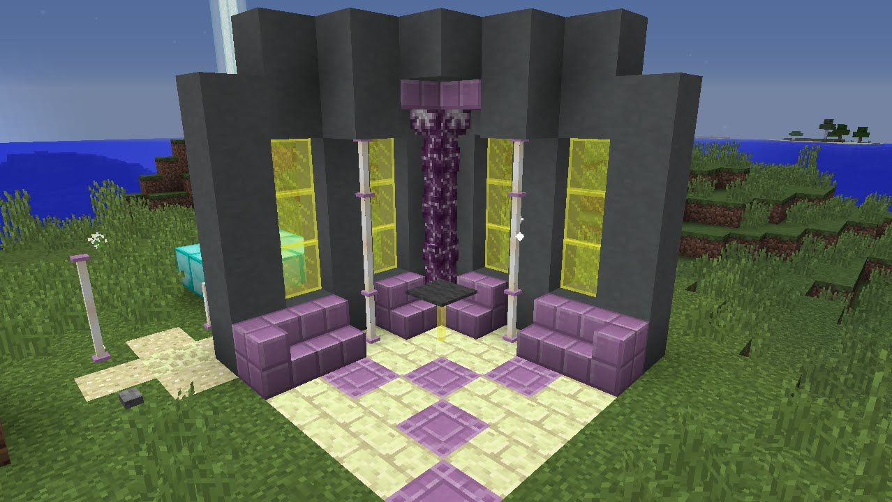 minecraft how to craft end rods