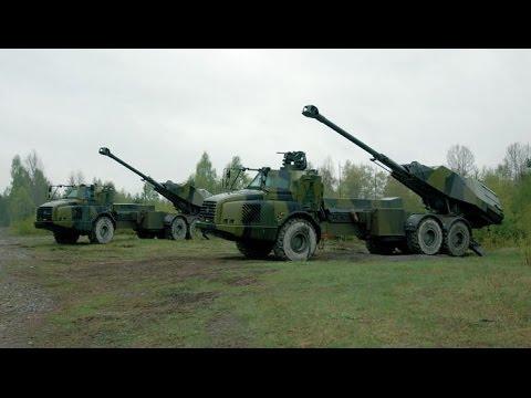 Шведская 155-мм многоцелевая самоходная артиллерийская установка FH77 BW L52 «Archer».
