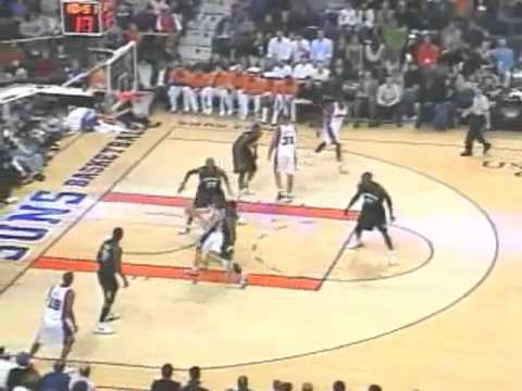 Steve Nash Pick and Roll Options