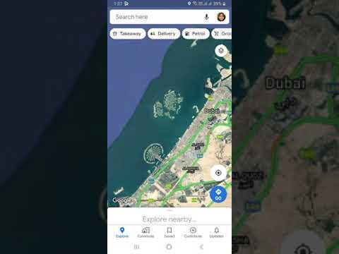 I found world island near Dubai