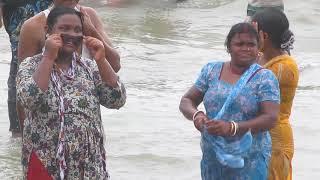 girl and boys baths DIGHA sea BEACH 2