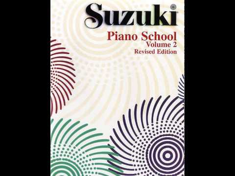 Suzuki Piano School Book 2  - Cradle Song (C.M. von Weber)