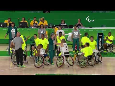 Wheelchair Basketball | Brazil vs Iran | Men's preliminaries | Rio 2016 Paralympic Games
