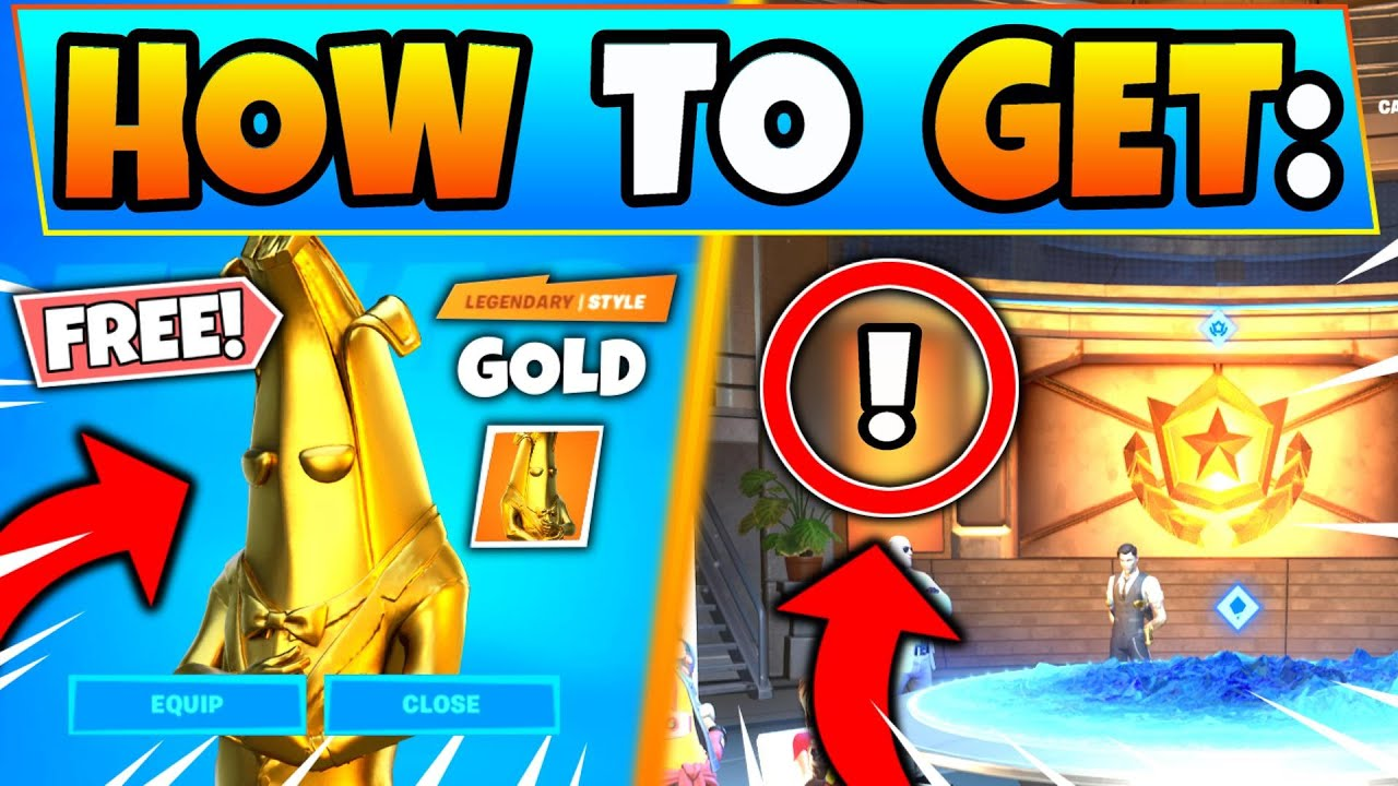 How To Get Free Gold Skins Now In Fortnite Chapter 2 Battle Pass Skins In Battle Royale Youtube