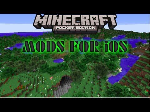 MCPE: HOW TO GET MODS ON iOS (NO JAILBREAK) (NO COMPUTER) YouTube