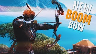 *NEW* BOOM BOW + BALLOONS ARE INSANE!! W/ NINJA, DRLUPO & FEARITSELF - Fortnite Battle Royale