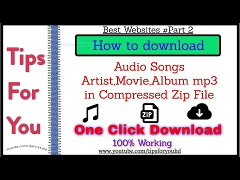 Best Websites For Download  Songs Album In Zip File In #oneclick  Best Websites Part-2 #music