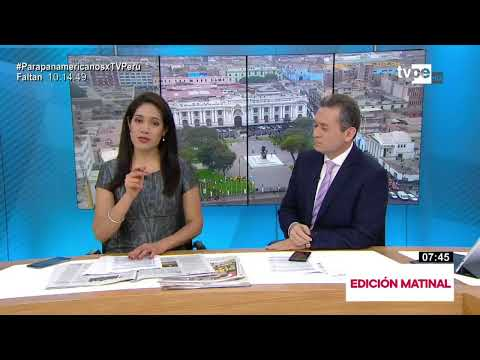 Entérate de los últimos y más importantes acontecimientos en TVPerú Noticias Edición Matinal