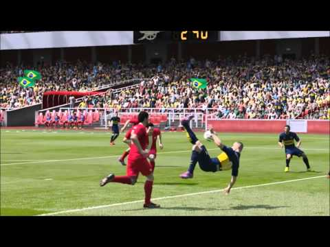 FIFA15 - Ultimate Team - Karim Benzema - Best Goals