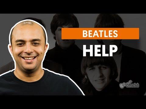 Help! - The Beatles (aula de bateria)