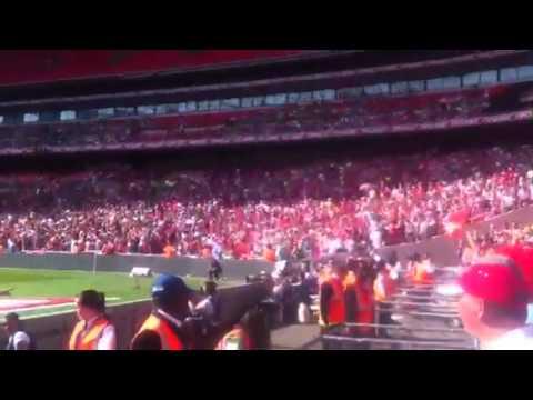 Crewe Alex Wembley 2012