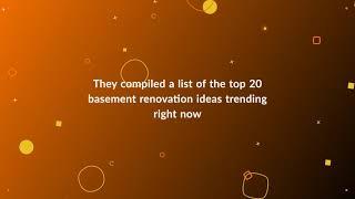 Top Toronto Basement Renovation Ideas Trending Right Now