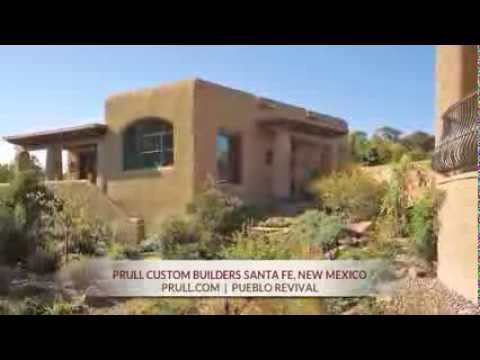 Prull custom home builders in santa fe new mexico for Pueblo home builders