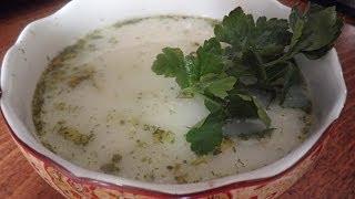 Английский куриный суп с сыром)))