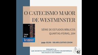 Estudo Bíblico - Tema: Catecismo Maior - Pergunta nº13
