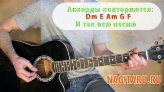 """Как играть: Макс Корж - """"Мотылек"""" на гитаре, аккорды, разбор вступления, перебора, боя"""