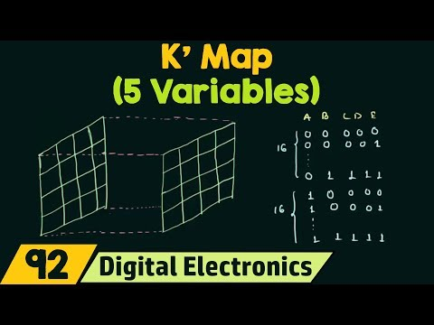5 variable K Map
