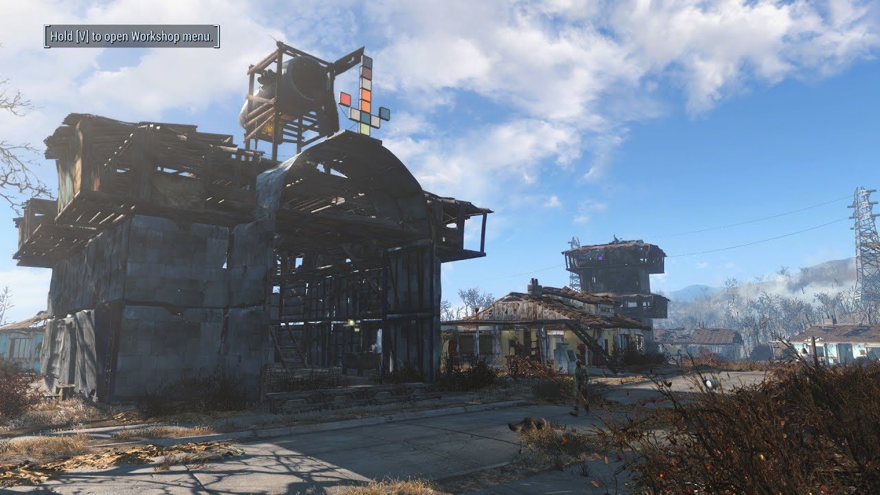 fallout 4 [how to build your own foundation] - youtube