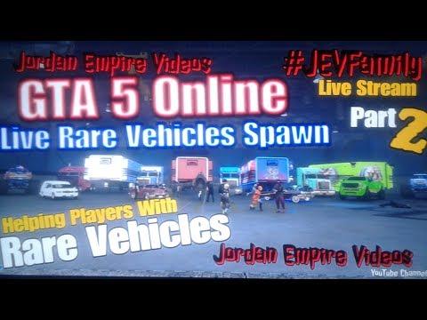 GTA 5 Online #JEVFamily Dubsta 2 & Hearse Spawn Help 2( Rare Vehicles, Fast Cash, Online Help & Fun)