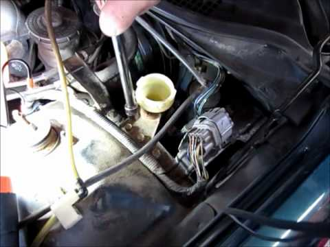 Clutch Hydraulics Replacement 1996 Honda Civic 3 Of 3