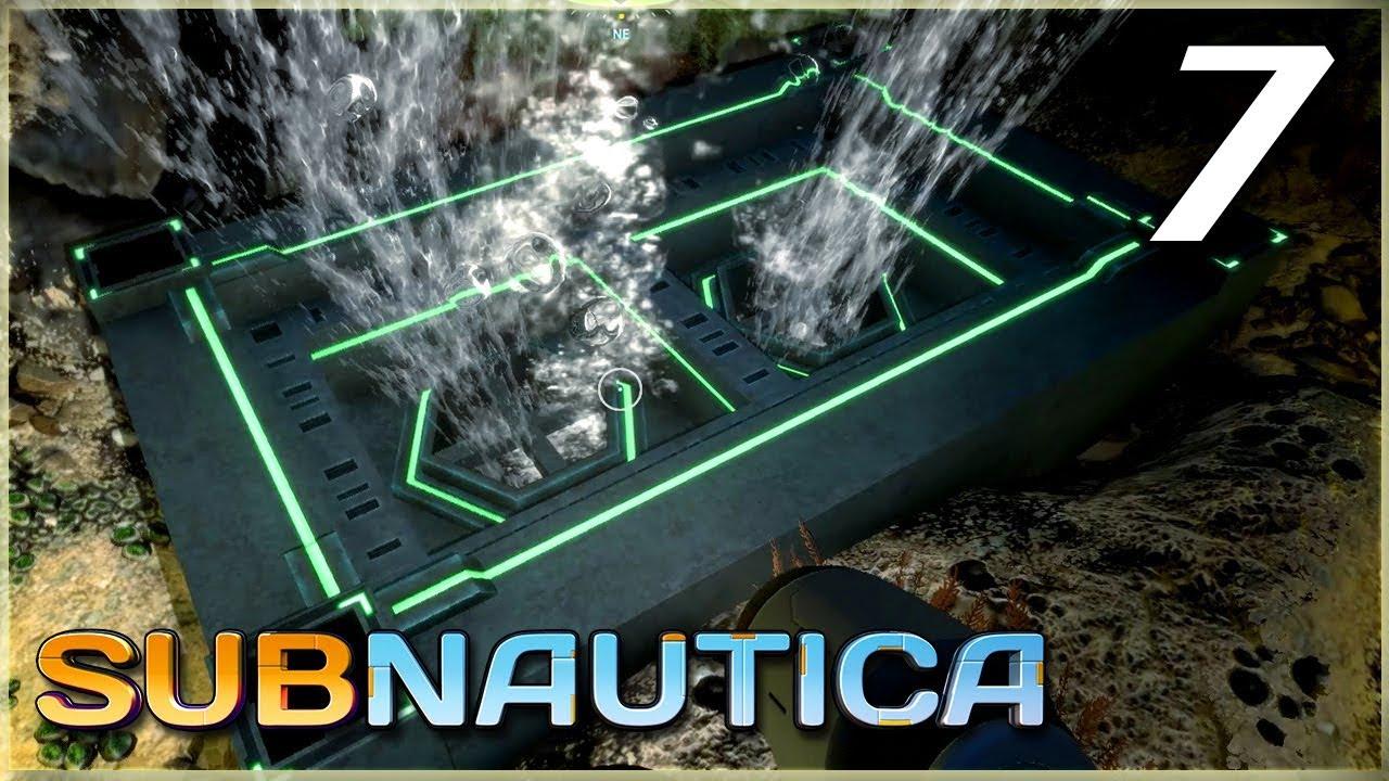 Subnautica 7 Alien Vents Thermoblade Youtube